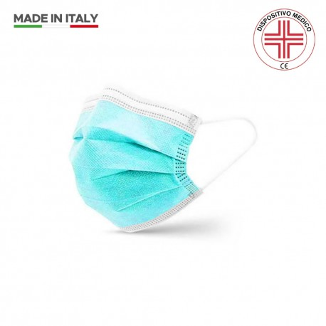 Mascherina Chirurgica Colorata - 50 pz